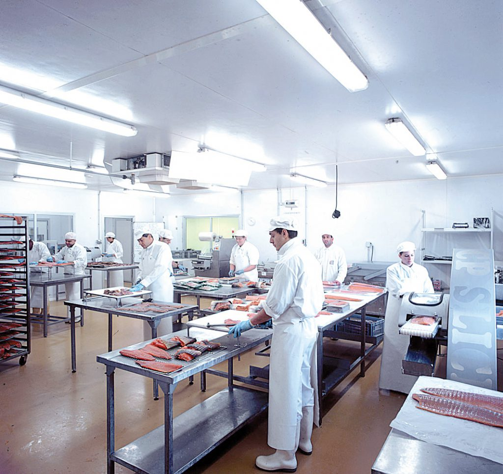 Food processing dry air