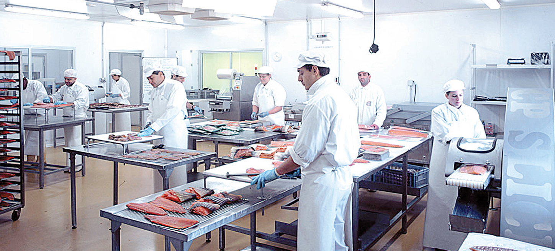 Food processing dry air