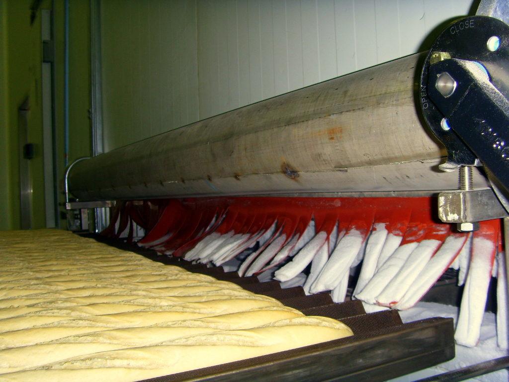 Industrial bread humidity control